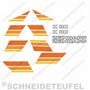 Zündapp K 80 Set Orange