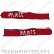 BMW Paris Tankaufkleber