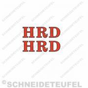 HRD Schriftzug