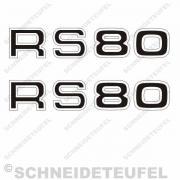 Rixe RS 80 Schriftzug