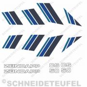 Zündapp CS 50 Komplettset Blau