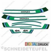 Puch Monza 4 SL Aufkleberset
