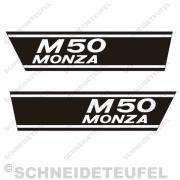 Puch M 50 Monza Seitenaufkleber