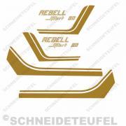 Horex Rebell Sport 80 Aufkleberset