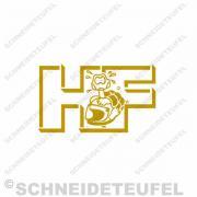 Malaguti Fifty HF Tankaufkleber
