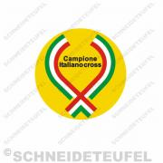 Campione italiano cross Aufkleber
