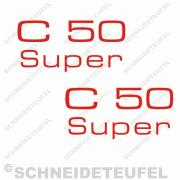 Zündapp C 50 Super Aufkleber