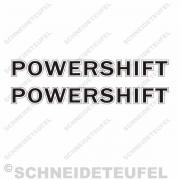 Case Powershift Aufkleber