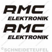 Kreidler Seitenaufkleber RMC Elektronik Set