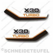 Puch X30 Turbo Tankaufkleber