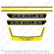 Kreidler Komplettset RS RMC - Gelb
