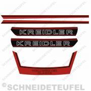 Kreidler Komplettset RS RMC - Rot