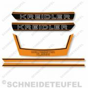 Kreidler Komplettset RS RMC - Orange