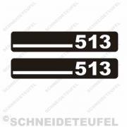 DKW 513 Trittbrettaufkleber