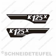 Hercules K125X Seitenaufkleber