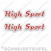 Rixe High Sport Aufkleberset
