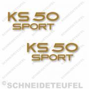 Zündapp KS 50 Sport goldmetallic
