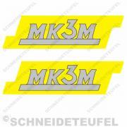 Hercules MK3M gelb mit rand