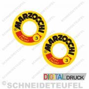 Marzocchi Stossdämpferaufkleber Typ 3