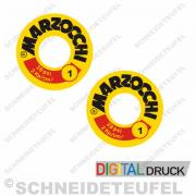 Marzocchi Stossdämpferaufkleber Typ 1