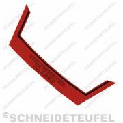 Kreidler Heckaufkleber Weltmeister rot