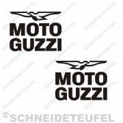 Moto Guzzi schwarz