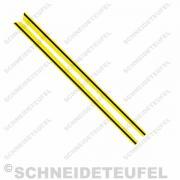 Kreidler Sitzbanklinien gelb Set