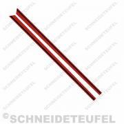 Kreidler Sitzbanklinien rot Set