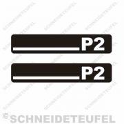 Hercules P2 Trittbrettaufkleber