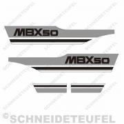 Honda MBX 50 Aufkleberset