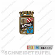 Rixe Emblem blau ohne Diamanten