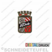 Rixe Emblem rot ohne Diamanten