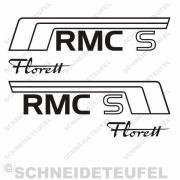 Kreidler Seitenaufkleber RMC S Set