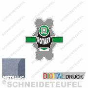 Fahrradaufkleber Rotary