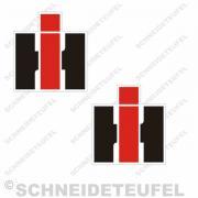 IHC Seitenaufkleber für Kabine auf Sockel