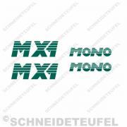 Hercules Sachs Mono MX1 Mofa Aufkleberset