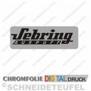 Sebring Auspuff Chrom