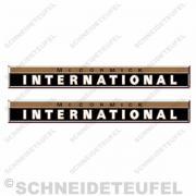 IHC Motorhaubenaufkleber