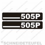 DKW 505P Seitenaufkleber