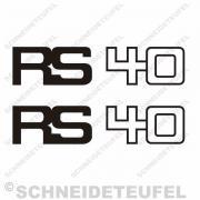 Hercules RS 40 Seitenaufkleber