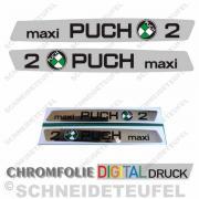 Puch Maxi 2 Tankaufkleber
