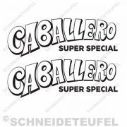 Caballero Super Special Aufkleberset