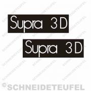 Hercules Supra 3D Trittbrett Aufkleber