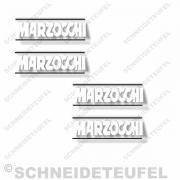 Marzocchi Stossdämpferaufkleber