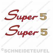 Kreidler Super 5 Schriftzug Set