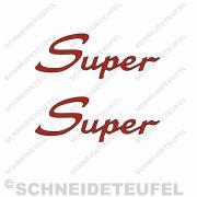 Kreidler Super Schriftzug Set