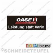 Case Leistung statt Vario 500x200mm