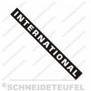 IHC International Kabinenaufkleber