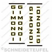 Gimondi Fahrradaufkleber