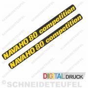 Navaho 80cc competition Aufkleber Set